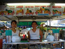Staurday morning at Parap market some 6kl+ from the centre of Darwin where the locals love to eat.